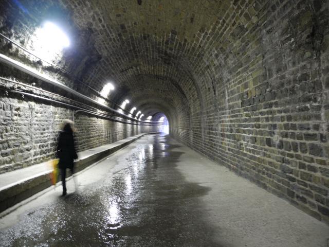 Sehenswürdigkeit von Cerbère: ein von Gustave Eiffel entworfenes Tunnelnetz