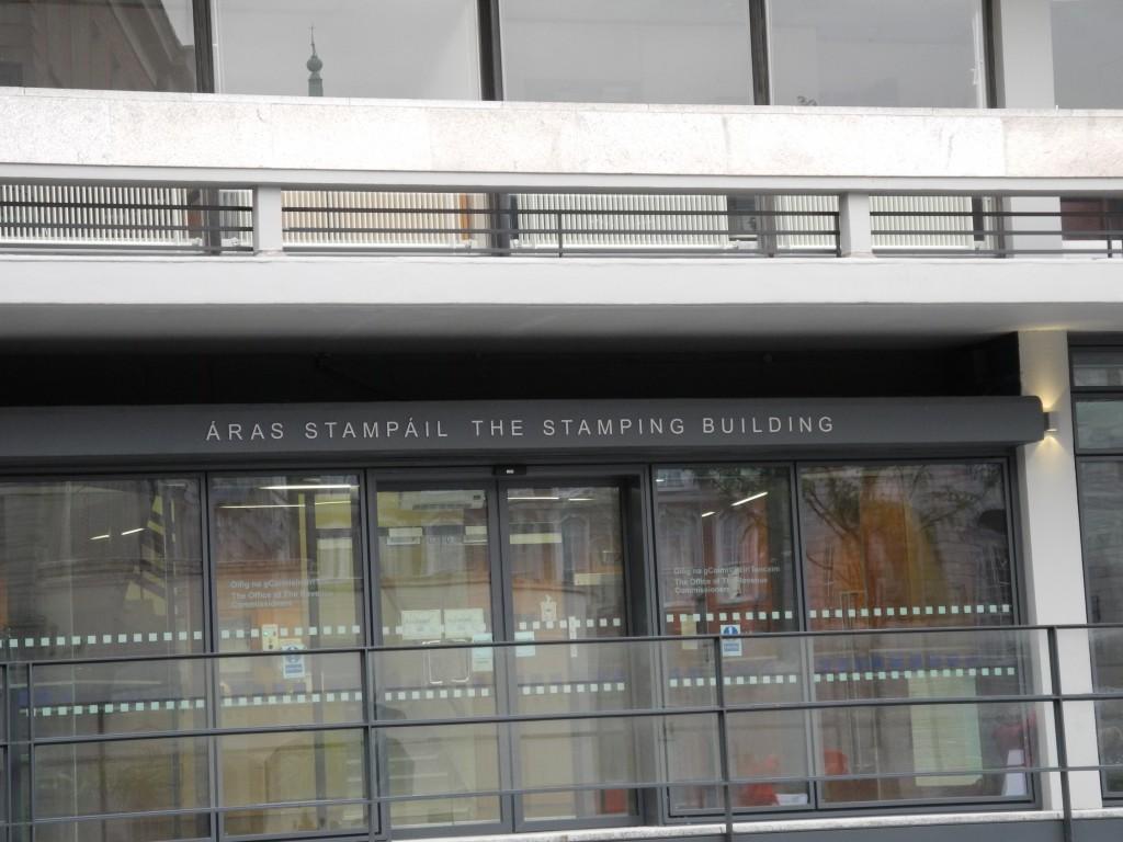 ...genausowenig wie die Funktion des Stamping Building.