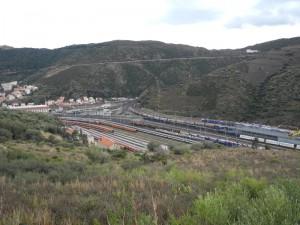 Der Bahnhof von Cerbère
