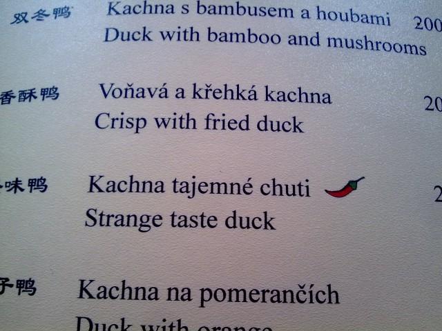 chinesisches Restaurant in Prag